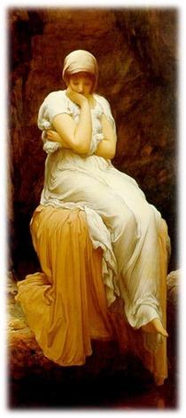 Solitude by Frederic Leighton (1830–1896) - PD via Wikipedia