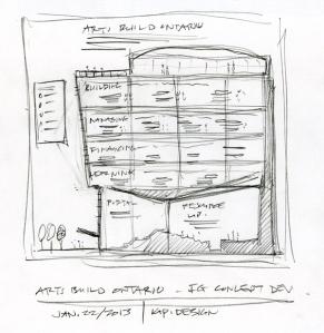 ABO concept sketch by KAP Design