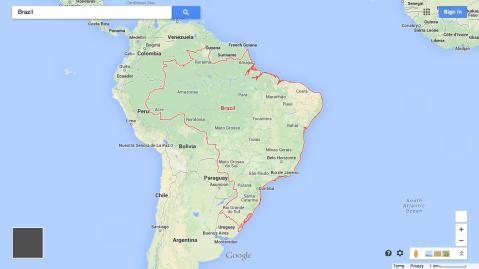 googlemaps_Brazil