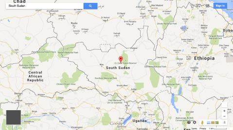 googlemaps_South Sudan