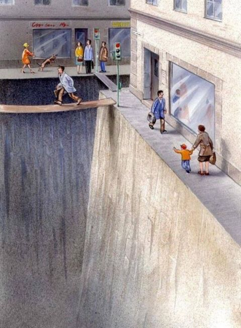 This brilliant illustration shows how much public space we've surrendered to cars - Vox